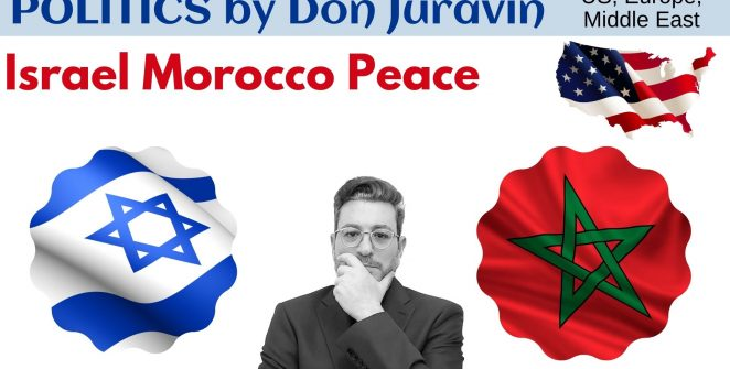 Israel Morocco Peace Politics by Don Juravin